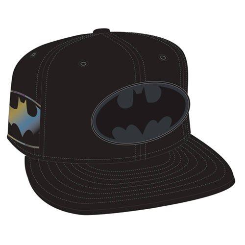 Batman superhero movie poster on a snap back cap